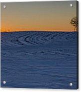 Simply Winter Acrylic Print