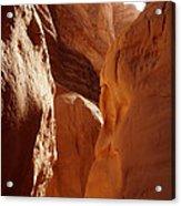 Sinai Desert  Canyon Region  Walking Path Egypt Acrylic Print