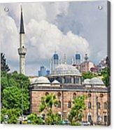 Sinan Pasha Mosque In Istanbul Acrylic Print