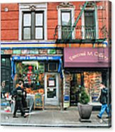 259 Bleecker Street  Acrylic Print