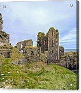 Sinclair Castle Scotland - 3 Acrylic Print