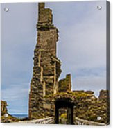 Sinclair Castle Scotland - 6 Acrylic Print