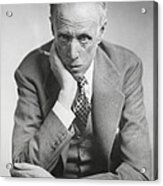 Sinclair Lewis, American Novelist Acrylic Print