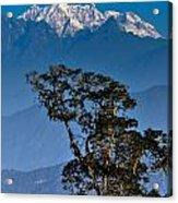 Singalila Ridge Sikkim Acrylic Print