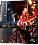 Singapore Boat Quay 03 Acrylic Print