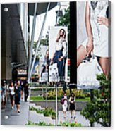 Singapore Orchard Road 02 Acrylic Print