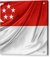 Singaporean Flag Acrylic Print