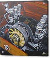 Singer Porsche Engine Acrylic Print