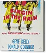 Singin In The Rain Acrylic Print by Georgia Fowler