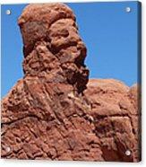 Singing Rock At Arches Np Acrylic Print