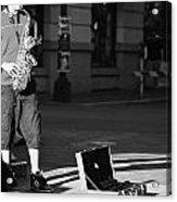 Singing Streets  Acrylic Print