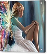 Single Fairy Acrylic Print