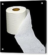 Single Ply Toilet Paper Acrylic Print