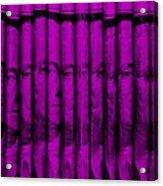 Singles In Purple Acrylic Print