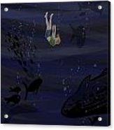 Sinking Acrylic Print