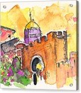 Sintra Castle Acrylic Print