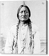 Sioux Chief Sitting Bull Acrylic Print