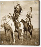 Sioux Chiefs  Acrylic Print