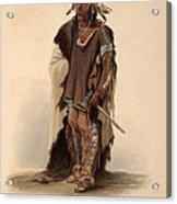 Sioux Warrior Acrylic Print