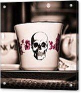Sip Of Death Acrylic Print