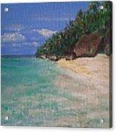 Siquijor Beach Acrylic Print