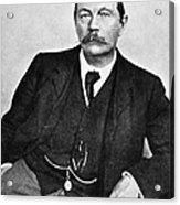 Sir Arthur Conan Doyle (1859-1930) Acrylic Print