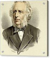 Sir Charles Reed  Educationalist Acrylic Print