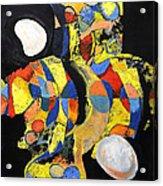 Sir Future Acrylic Print by Mark Jordan