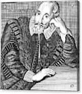 Sir Henry Wotton (1568-1639) Acrylic Print
