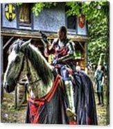 Sir Lancelot Du Lac - V2 Acrylic Print