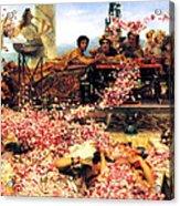 Sir Lawrence Alma Tadema Acrylic Print