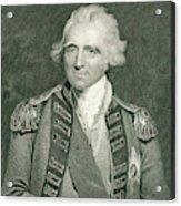 Sir Ralph Abercromby  British General Acrylic Print