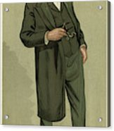 Sir Samuel Wilks  British Physician Acrylic Print