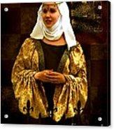 Maid Marian - Sire I Kan Not Quod She Acrylic Print
