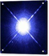 Sirius Binary Star System Acrylic Print