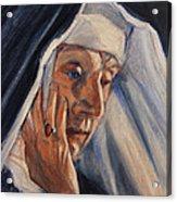 Sister Ann Acrylic Print