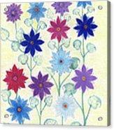 Sister Bloom Acrylic Print