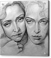 Sisterhood Acrylic Print