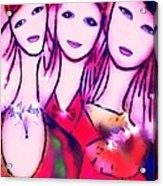 Sisters T Acrylic Print