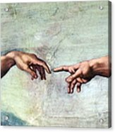 Sistine Chapel Acrylic Print by SPL and Photo Researchers