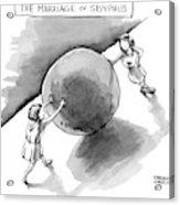 The Marriage Of Sisyphus Acrylic Print