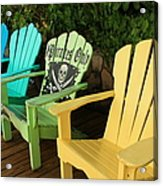 Sit At Your Own Risk Acrylic Print