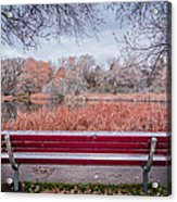 Sit With Me Acrylic Print