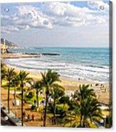 Sitges Spain On The Mediterranean Coast Acrylic Print