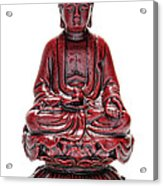 Sitting Buddha  Acrylic Print by Olivier Le Queinec