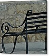 Sitting In Malta Acrylic Print