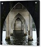 Siuslaw River Bridge Florence Oregon Acrylic Print