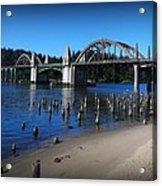 Siuslaw River Bridge Oregon Acrylic Print