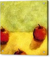 Six Apples Acrylic Print