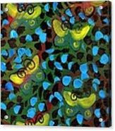 Six Butterflys Acrylic Print